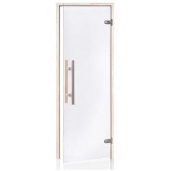 Dveře do sauny LIGHT PREMIUM 7X20 čiré osika